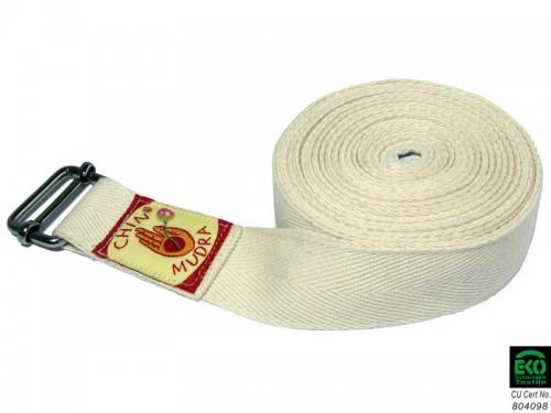 Sangle traditionnelle 100% Coton Bio 3cm x 250cm