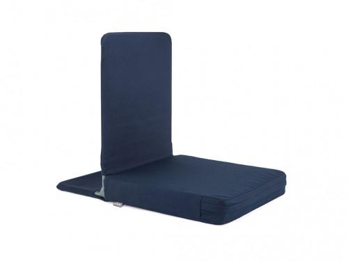 Article de Yoga Siège de méditation Pliable XL Bleu