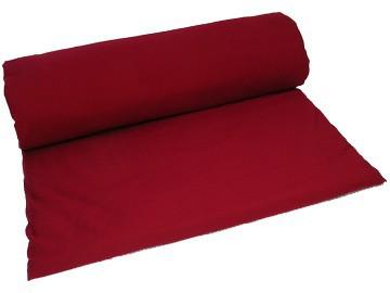Article de Yoga Tapis de massage 100% coton Bio - Bordeaux 200cm x 100cm