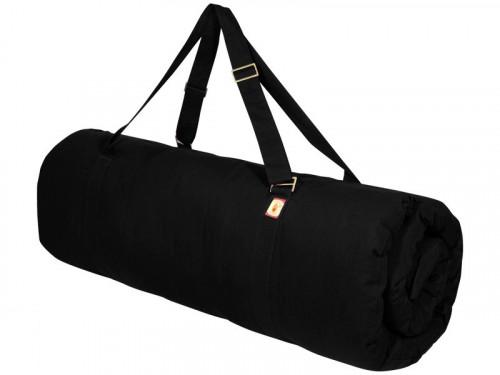Tapis de massage 100% coton Bio - Noir 200cm x 120cm