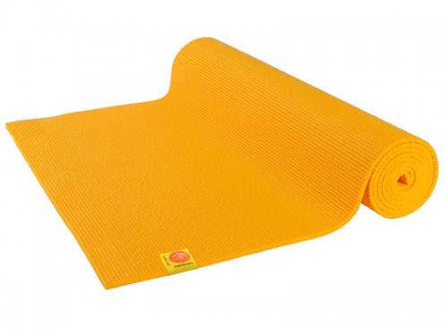 Tapis de yoga Confort Non toxiques - 183cm x 61cm x 6mm Safran