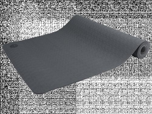 Article de Yoga Tapis de Yoga Eco-Terre 183 cm X 60 cm x 6 mm Gris/Anthracite