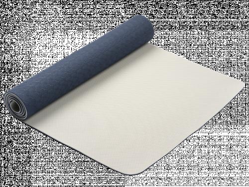 Article de Yoga Tapis de Yoga Eco-Terre 183 cm X 60 cm x 6 mm Bleu