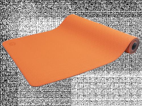 Article de Yoga Tapis de Yoga Eco-Terre 183 cm X 60 cm x 6 mm Orange/Anthracite
