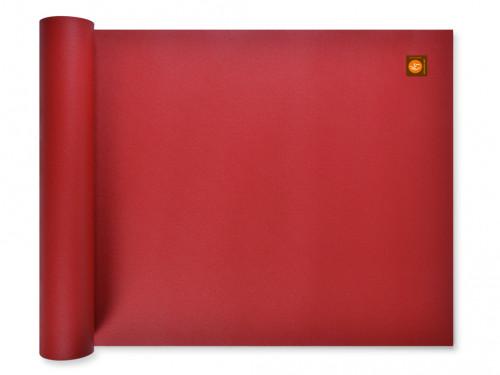 Tapis de yoga Excellence Mat 100% Latex - 4,5mm Bordeaux