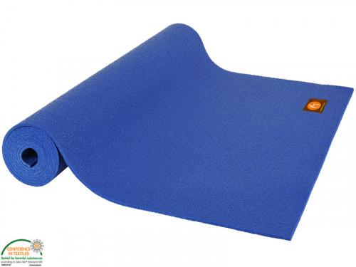 Article de Yoga Tapis de yoga Extra-Mat - 185cm/220cm x 60 cm x 4.5mm Bleu marine
