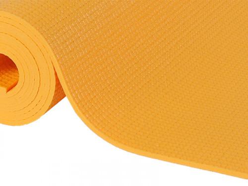 Article de Yoga Tapis de yoga Extra-Mat - 185cm/220cm x 60cm x 4.5mm Safran