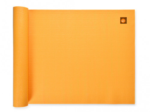 Tapis de yoga Extra-Mat - 185cm/220cm x 60cm x 4.5mm Safran