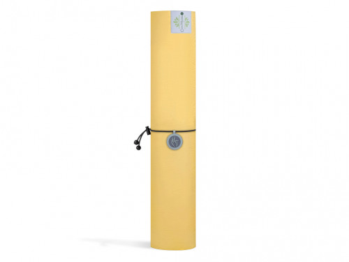 Article de Yoga Tapis de Yoga Green Mat 5mm 183 cm x 61 cm x 5 mm - Jaune