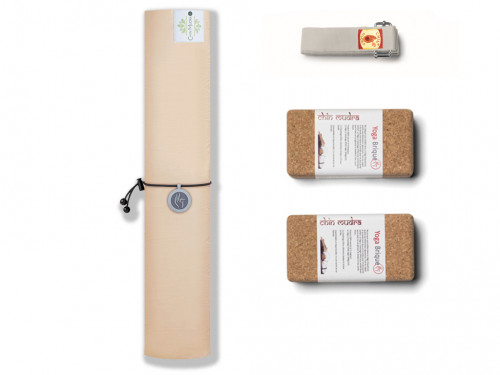 Tapis de Yoga Green Mat 5mm Rose