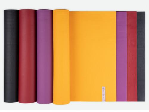 Article de Yoga Tapis de Yoga Intensive-Mat 4mm 185 cm x 65 cm x 4.0 mm - Jaune Safran