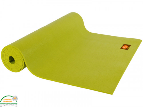 Article de Yoga Tapis de yoga Large-Mat 183cm/220cmx80cmx4.5mm Citron Vert