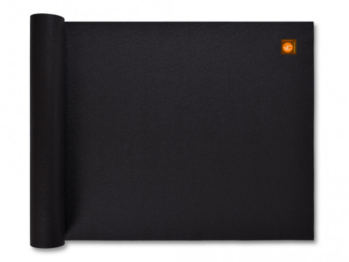 Tapis de yoga Large-Mat 183cm/220cmx80cmx4.5mm Noir