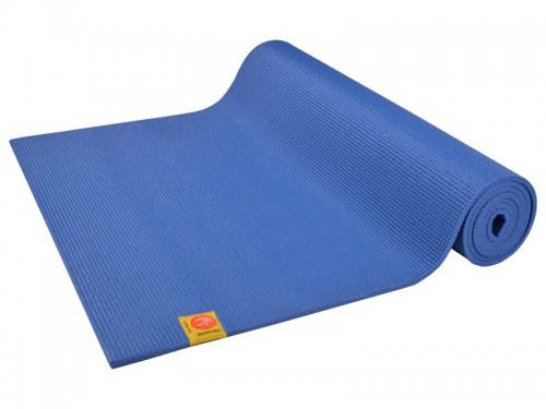Tapis de yoga Non toxiques - 183cm x 61cm x 4.5mm Bleu