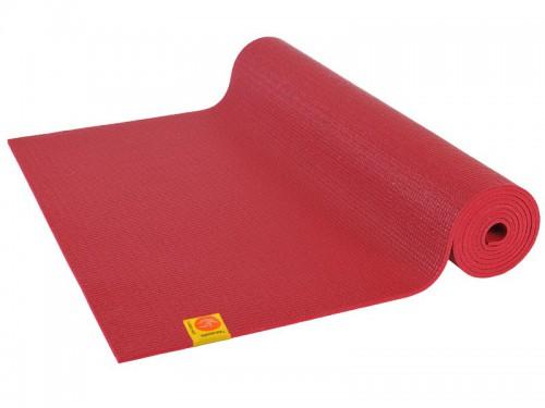 Tapis de yoga Non toxiques - 183cm x 61cm x 4.5mm Bordeaux