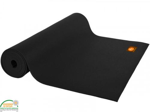 Article de Yoga Tapis Standard-Mat 183cm/220cm x 60cm x 4.5mm Noir
