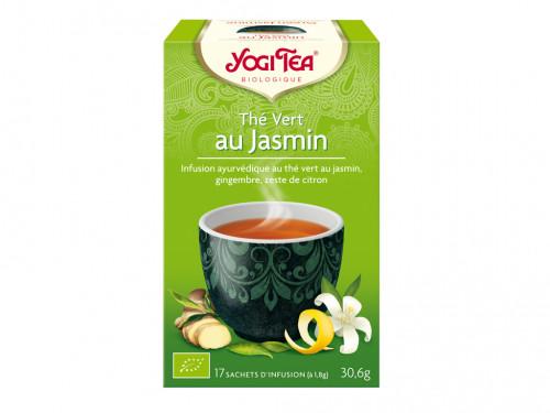 Thé Vert et épices Jasmin  (la subtilité de la fleur de jasmin) 30gr