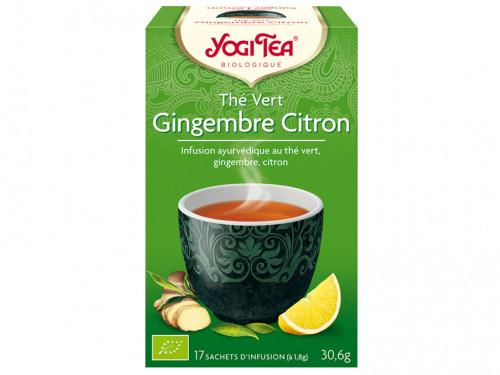 Thé Vert Gingembre Citron 30gr