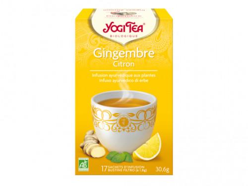 Tisane Ayurvédique Ginger Lemon Tea  (renforce le système nerveux) 30gr