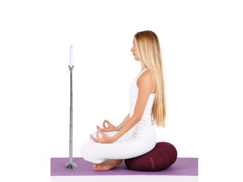 Trataka - Support de méditation télescopique Chin Mudra