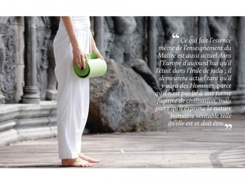 Article de Yoga Yoga 2500 ans d'histoire Clémentine Erpicum