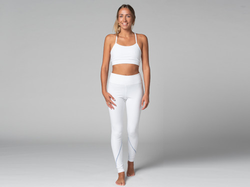 Yoga Legging Sport - Bio Blanc