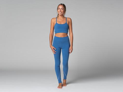 Yoga Legging Sport - Bio Bleu