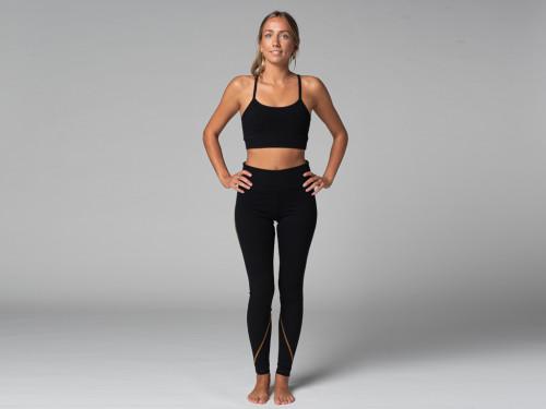 Yoga Legging Sport - Bio Noir