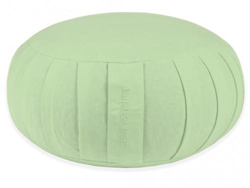 Zafu Confort 100% coton Bio - Epeautre Vert Pastel