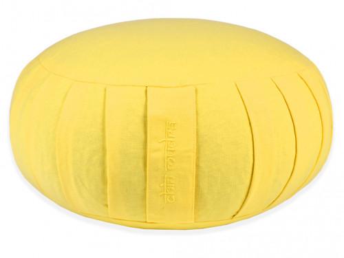 Zafu Confort 100% coton Bio - Epeautre Jaune