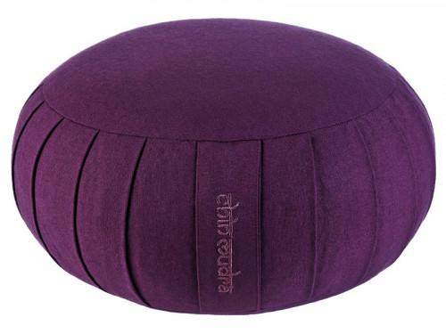 Zafu Confort 100% coton Bio - Kapok Prune
