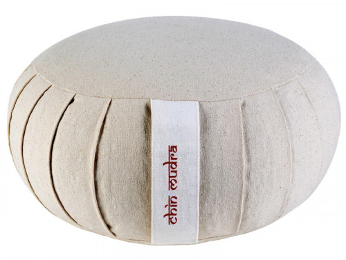 Zafu Standard 100% coton Bio Kapok Nature