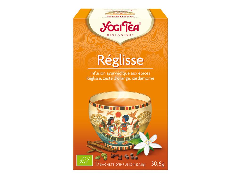 Yogi Tea Reglisse (élimine les toxines des intestins) 30gr