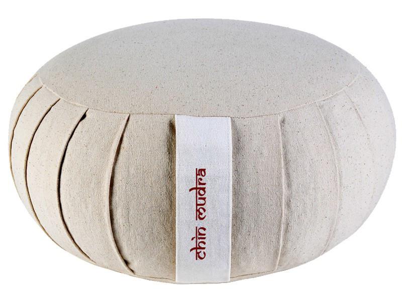Zafu Confort 100% coton Bio Epeautre Nature