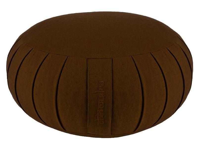 Zafu Confort 100% coton Bio - Epeautre Chocolat