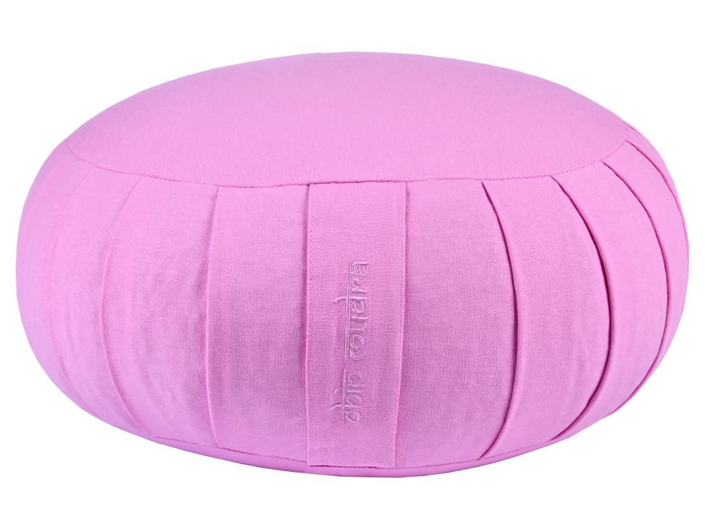 Zafu Confort 100% coton Bio - Epeautre Lila