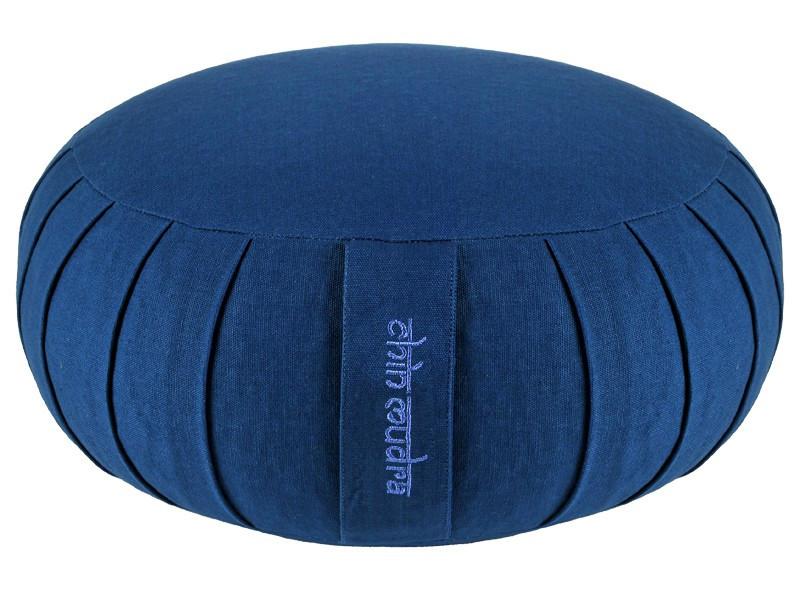 Zafu Standard 100% coton Bio - Epeautre Bleu