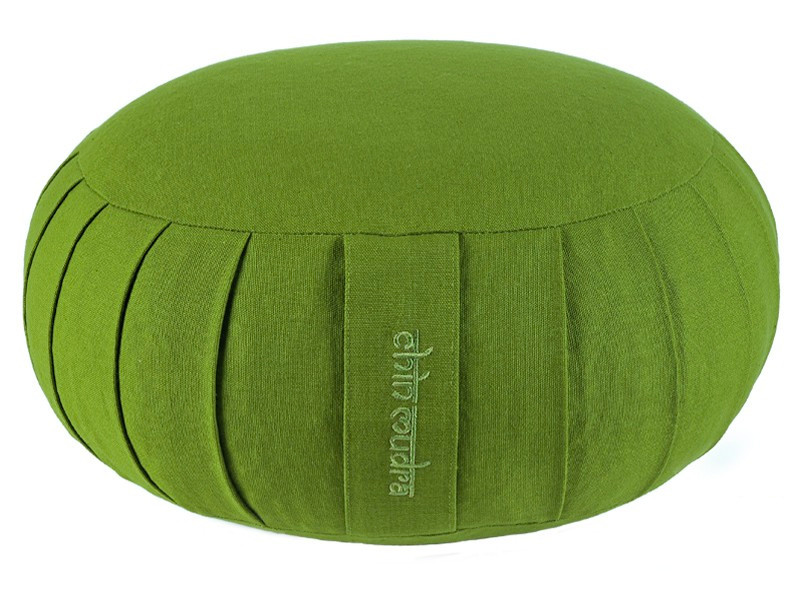 Zafu Standard 100% coton Bio Kapok Vert